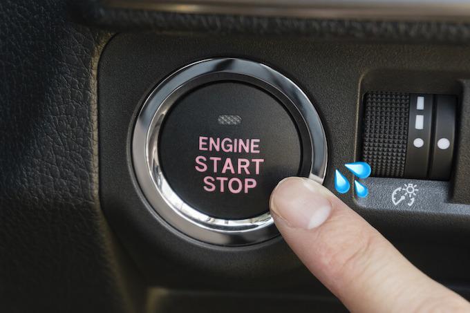 車 の エンジン が かからない
